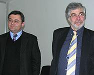 Давид Усупашвили (Республиканская партия) и Гия Нодия